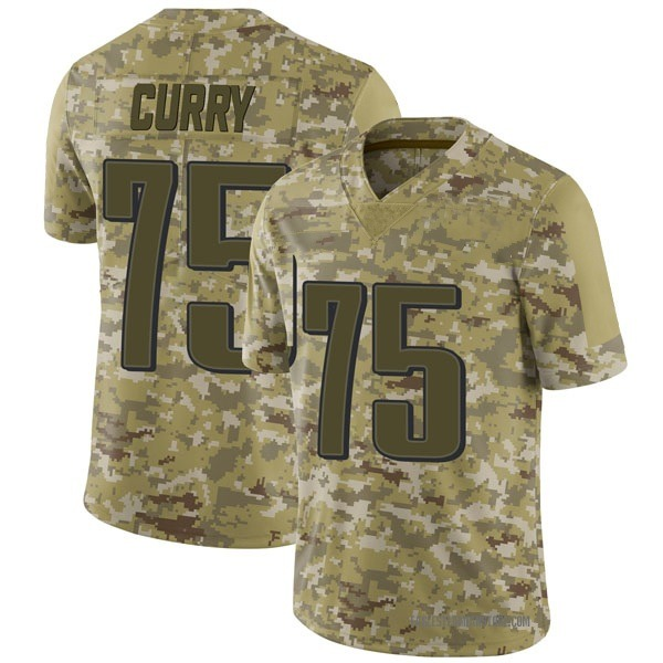 Vinny Curry Philadelphia Eagles Limited Camo 2018 Salute to Service Jersey